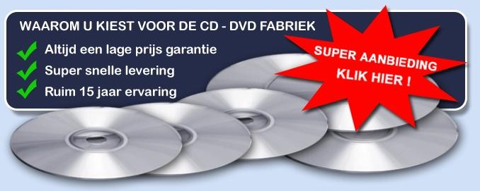 CD perserij voor het persen van uw dvd of CD productie